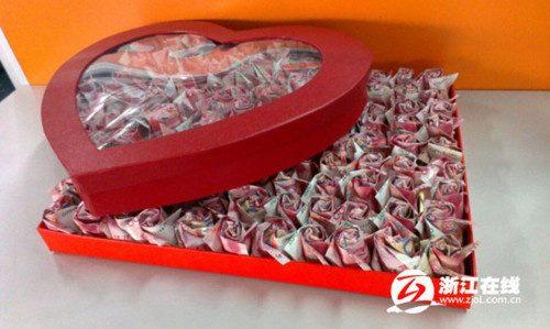 Proposte di matrimonio curiose: regalare un bouquet di…