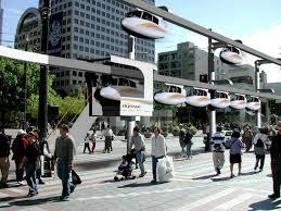 Skytran: l'auto che ti fa volare