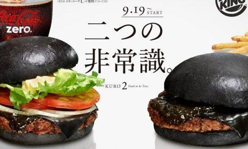 Hamburger neri che spopolano in…