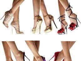 Cosa sareste disposte a fare  per indossare calzature altissime?