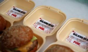 hamburger dal sapore di carne umana