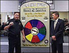 La ruota della giustizia: ti arresto i criminali?
