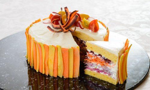 """Le """"torte di insalata"""" spettacolo di leggerezza"""