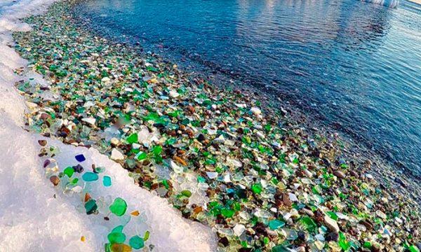 La spiaggia di vetro: la rivincita della natura