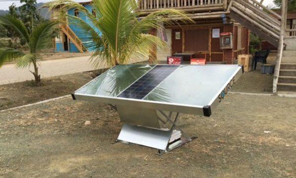 Inventato il pannello solare che produce acqua potabile.