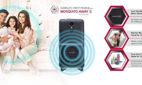 LG lancia lo smartphone che scaccia le zanzare.