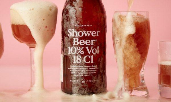 Inventata la birra da bere sotto la doccia